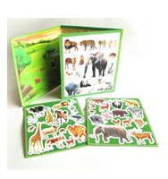 Magic Animal Paradise magnetic game fridge magnet book
