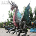 Outdoor amusement park high simulation life size monster