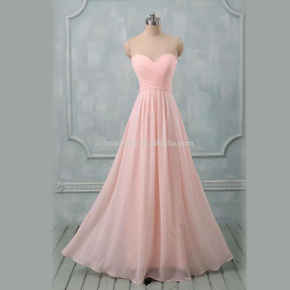 Venta al por mayor vestidos damas de honor largos verde menta-Compre ...