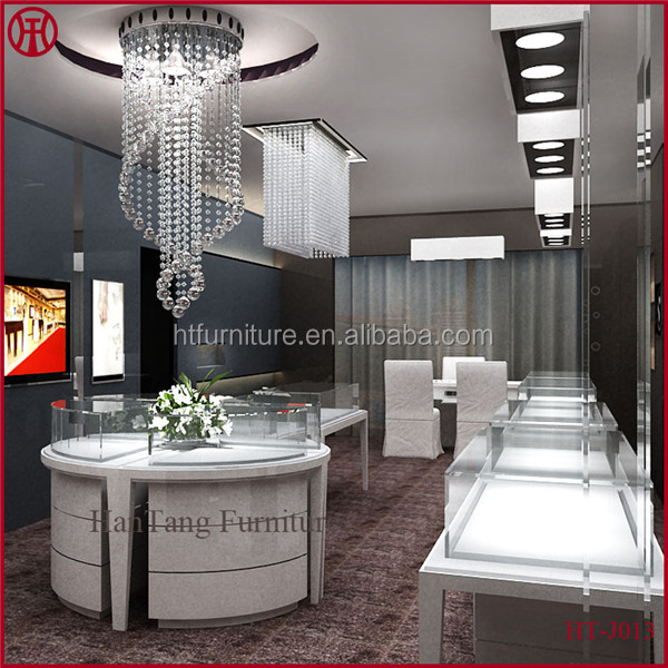 Professioanl Modern Jewelry Shop Interior Design With 3d Max Software