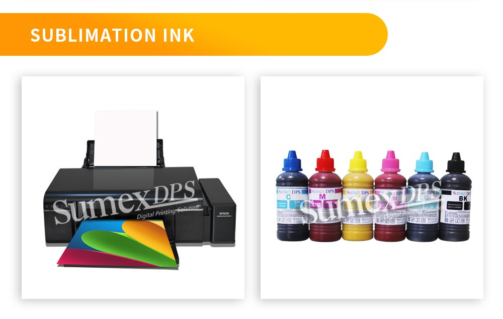 Good Quality Sublimation Ink, For printer L805/L1800 and other 6 color printers, 100ml/bottle, six colors, 6 bottles/set