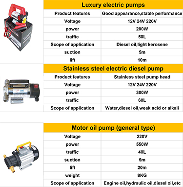Micro pompa di trasferimento di olio elettrico 12 v elettrico