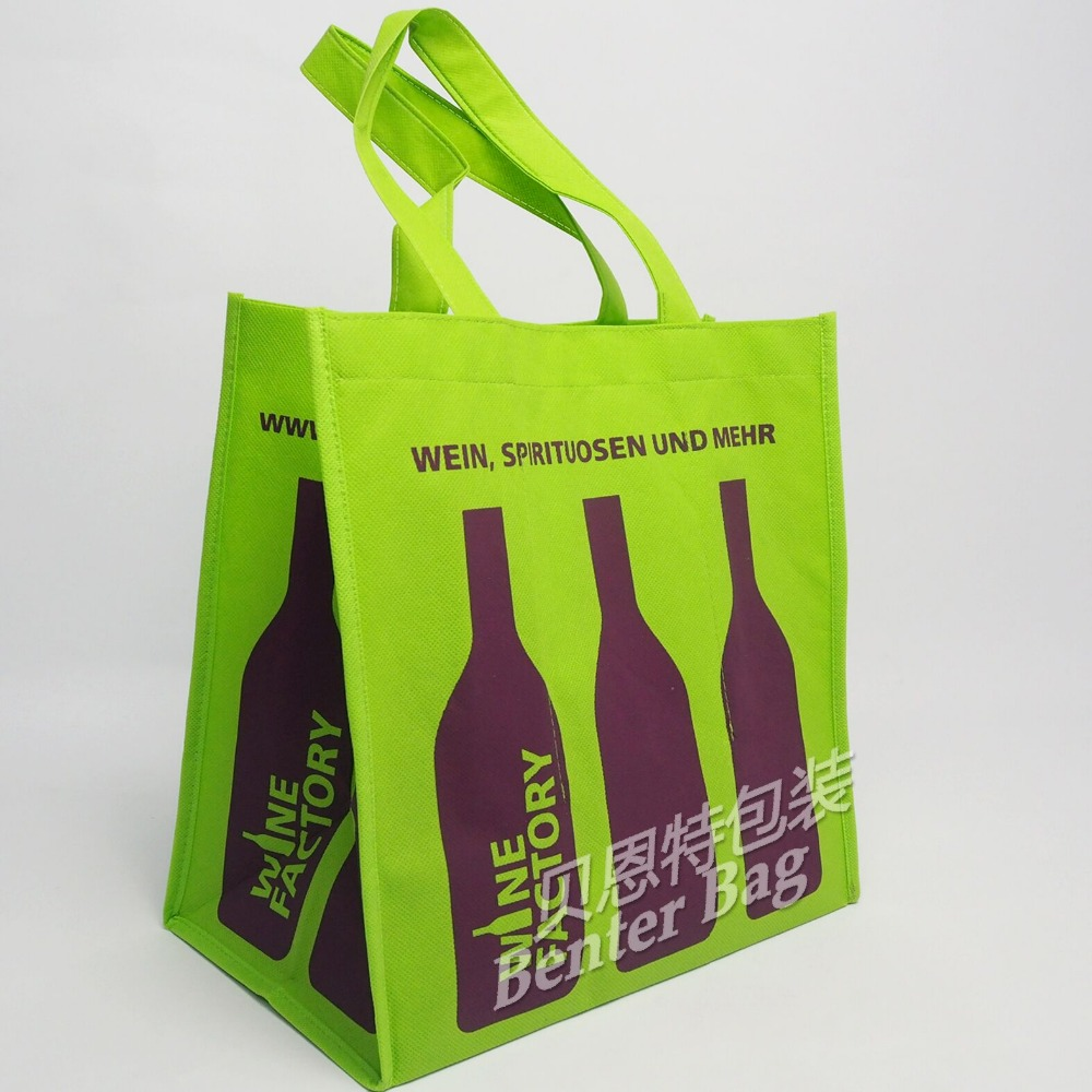 6 bottles wine carrier bag,non woven wine bag with 6 bottles,wine bottle bag pattern