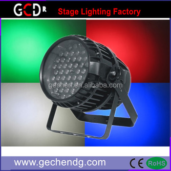 Hot Ce Rohs Dmx 54*3w Zoom Led Stage Waterproof Par Light Rgbw Led ...