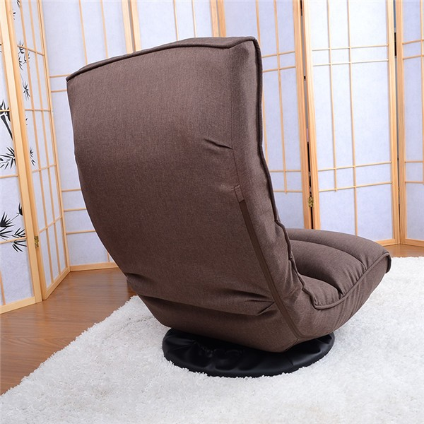Floor Recliner Chair 360degree ③ Swivel Swivel Folded