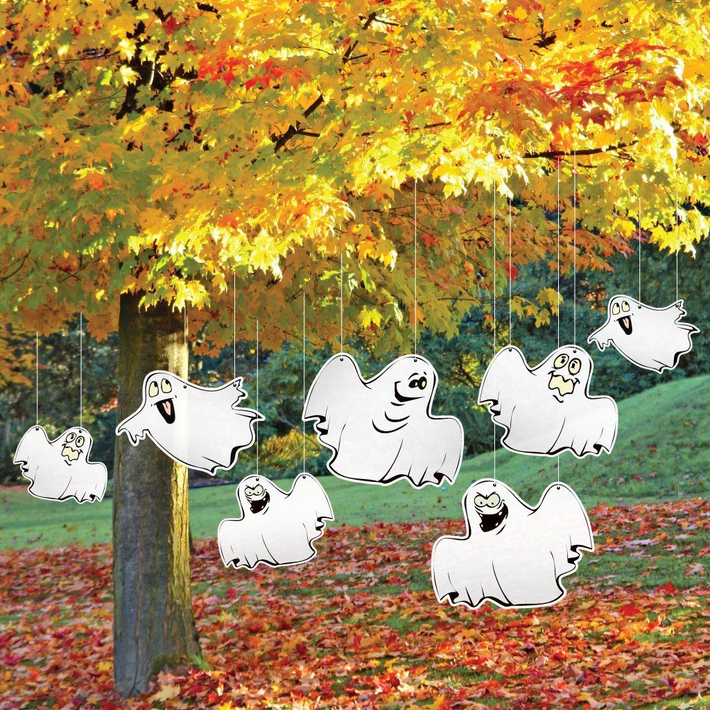 halloween yard decoration funny ghosts