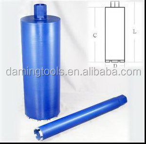 Newest Wholesale diamond core drill bits tube