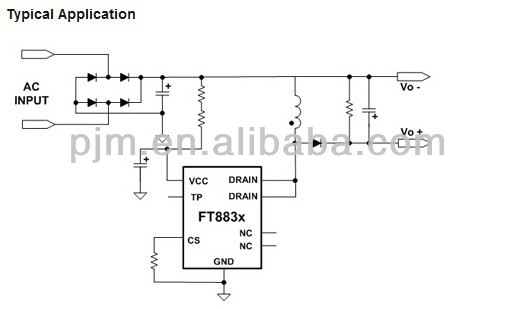 Ft883a High Performance Non-isolated Buck-boost Ic Led Driver ...
