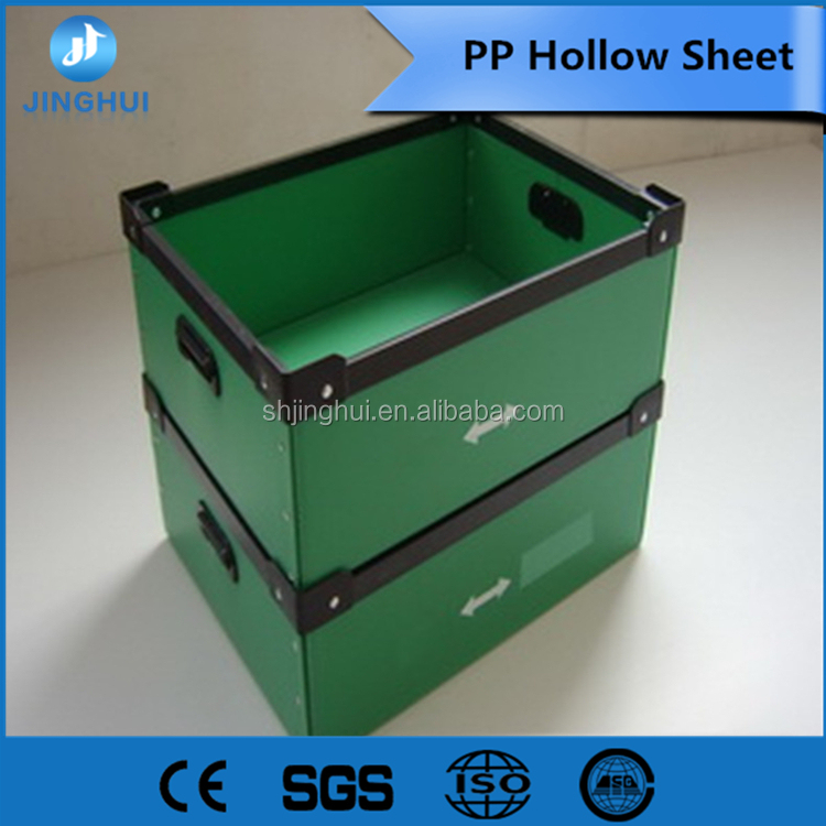 Anti-Static white pp hollow grid sheet plant for Package