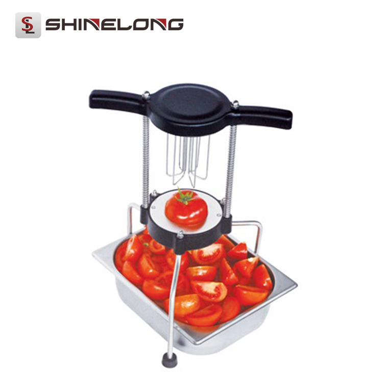 F333-2 Manual Fruit Divider Tomato Cutting Kitchen Light Duty Machines