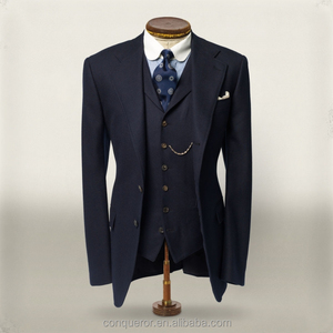 Italian Style High End Custom Made Slim Fit 3 Pieces Men Suit