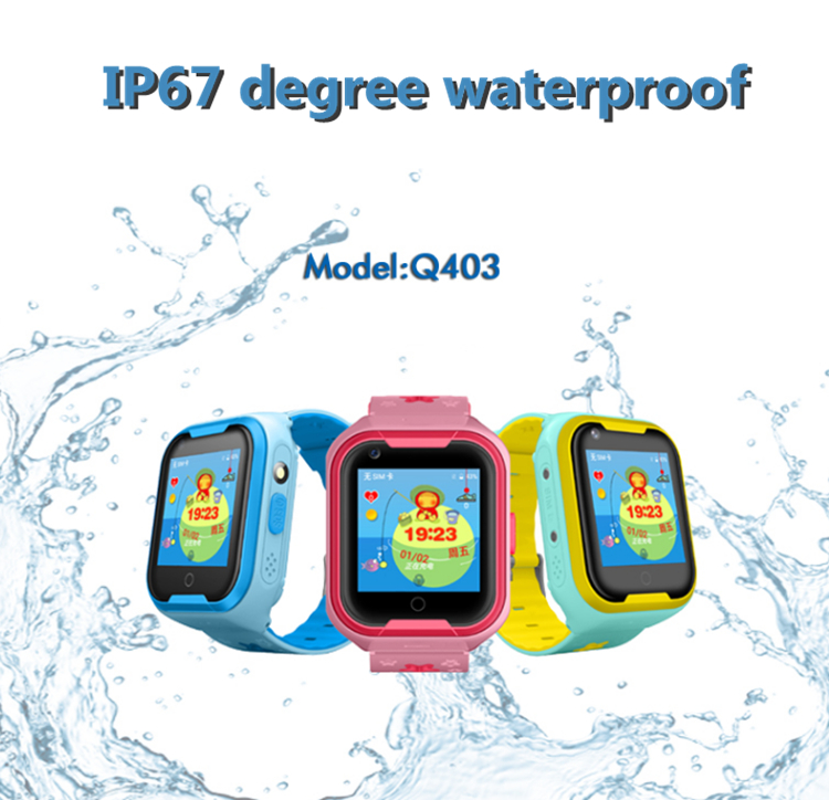 Low-cost factory selling fashion design Android GPS emergency call children's smart watch