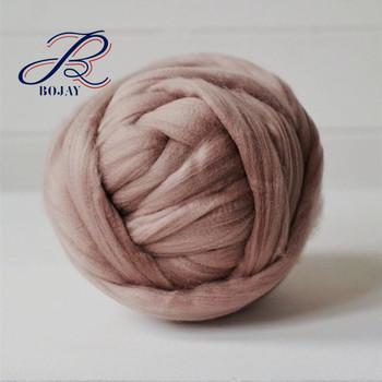 Bojay Wholesale 100 Australia Merino Wool Giant Super Soft Thick