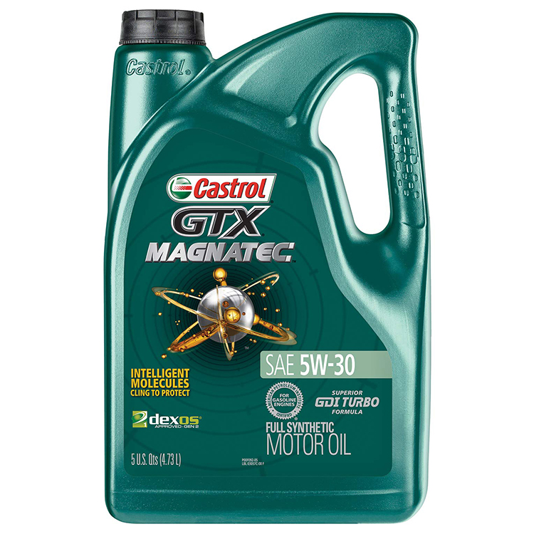 CAST MAGMATIC Full Synthetic , 5W30 Motor oil, 5 Quart Gallon ( 4.73 Liters)