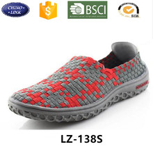 2016 Summer light women Woven Unisex weave jogging Straw Braid shoes men comfortable hot sell casual shoe
