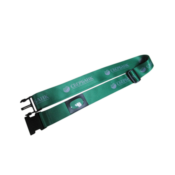 Fabric Material and Belt Type luggage strap
