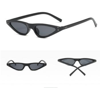 fe56e9c9b9a63 Vintage Women Cat Eye Sunglasses Outdoor Small Frame Shades Eyeglasses  Eyewear Am75