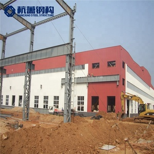 Fast Building 2018 Warehouse/Workshop Made In China Cheap Steel Prefab Houses