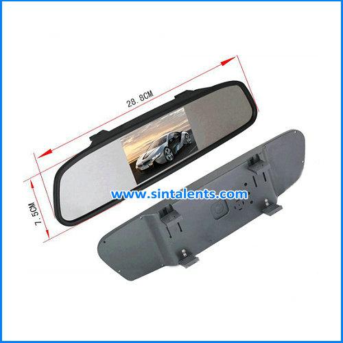4.3 inch rearview car screens monitors