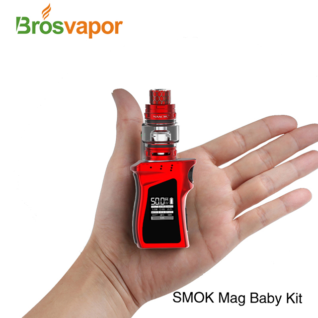 Wholesale 4.5ml/ 2ml 50W Smok Mag Baby Kit With TfV12 Baby Prince Tank