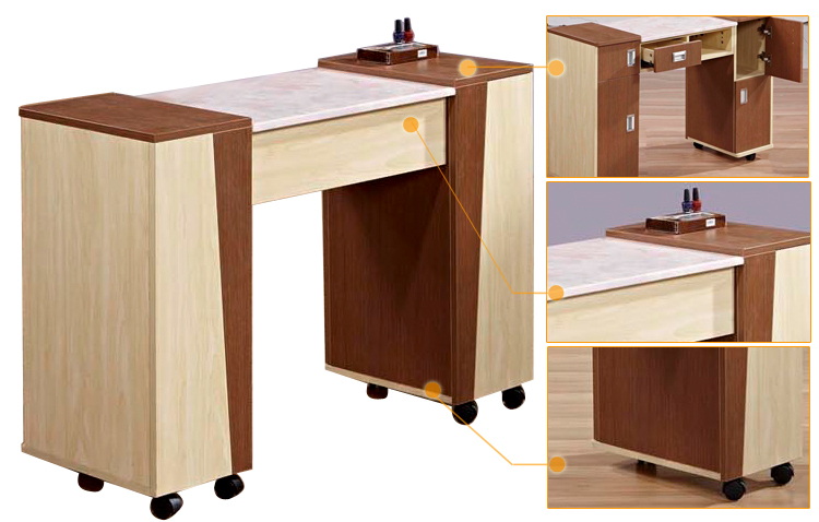 hot new portable nail manicure table N033