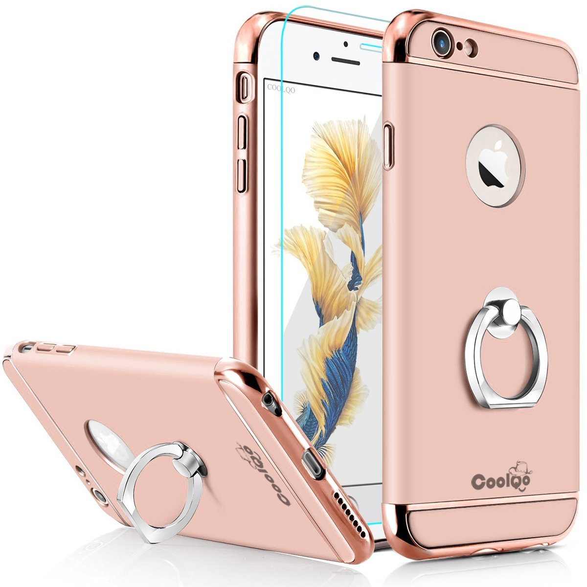 Cheap Rose Gold Iphone 5 Skin Find Deals On Case 6 6s Matte Full Protective Hard For Golden Get Quotations Plus Coolqo Ultra Thin 3in1 Pc