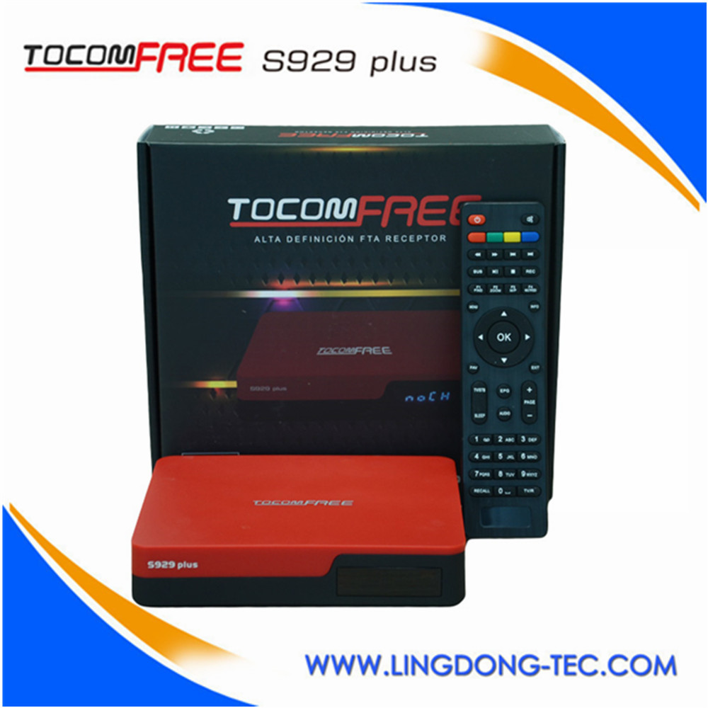 TOCOMFREE S929 plus Multifunctional use satellite receiver SCPC MCPC for South America
