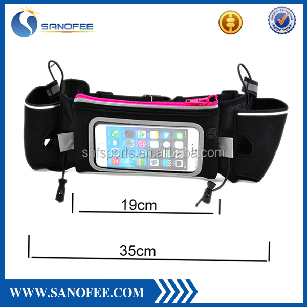 New Brand Outdoor Sports Running Waist Belt Bag with Water Bottle Holder / Riding Bike Cycling Bicycling Running Waist Pack