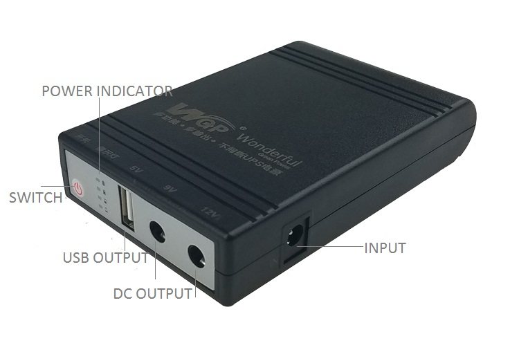 Wifi Router Ip Camera Ups Price 18650 Lithium Battery