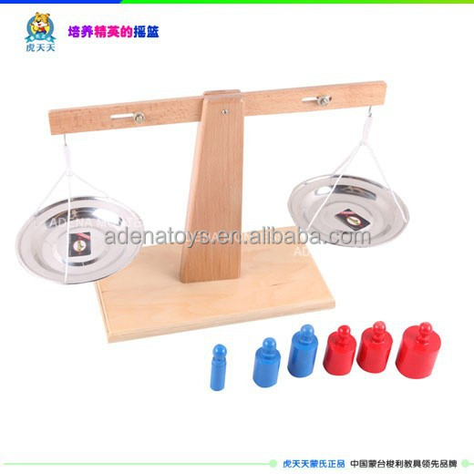 montessori BALANCE Scale A230/teaching aids/professional montessori/montessori manufacture