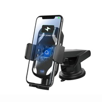 2019 Latest new model 10W wireless car charger Holder Qi Fast charging For Samsung S9/Note 8/S8/S8 Plus For iPhone