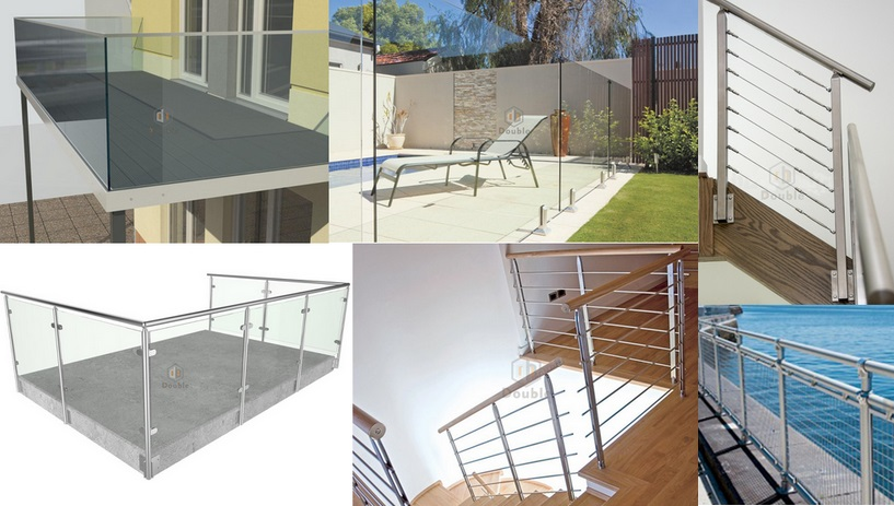 Customers Indoor Railing Stainless Steel Handrail Cable Balustrade