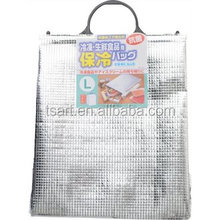 Aluminum Foil Insulated cooler bag for frozen food