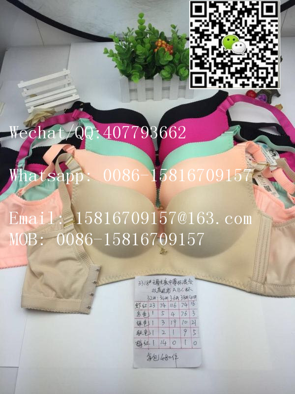 521cb2a4ca Wholesale Thailand Deep Cleavage V Bra Ladies Seamless Wireless Sports Push  Up Bra