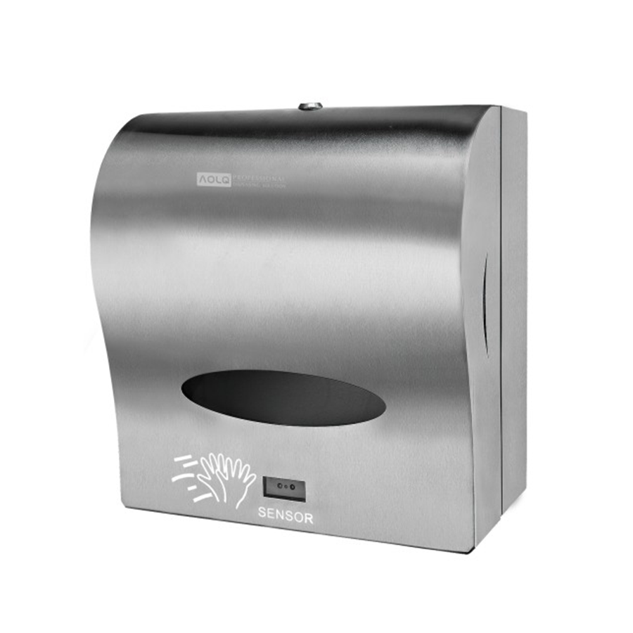 Roll Paper Towel Dispenser White Touchless Paper Towel Rolls Dispenser Commercial Touch Free Paper Towel Dispenser