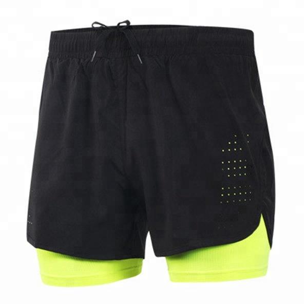 Großhandel Custom Lauf gym engen männer laufhose compression shorts für gym