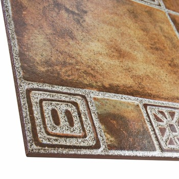Mexican Terracotta Floor Tile Made By Tile Making Machine 400mm