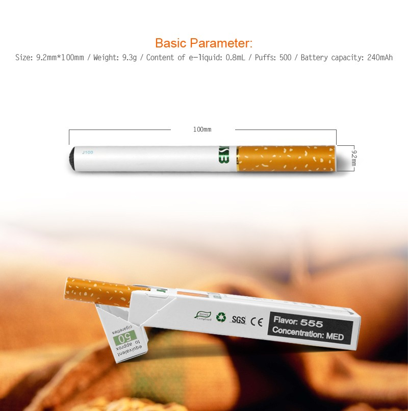 Wholesale special price 500 puffs disposable ecigs J100 model
