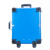 Professional Portable PVC PU Leather beauty case with lights/rolling trolley beauty train case with lights with mirror