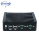 2017 New Intel J1900 Quad Core Ultra Low Power Thin Client Desktop Computer 2 Ethernet Fanless Ubuntu Mini PC 12V With 4GB Ram