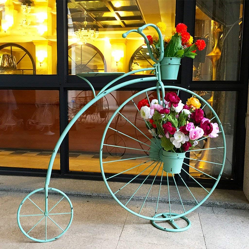 Flower Stand Handmade Metal Plant Stands Flower Shelf Display Shelf Plant Flower Display Stand Pot Shelf (Color : C)