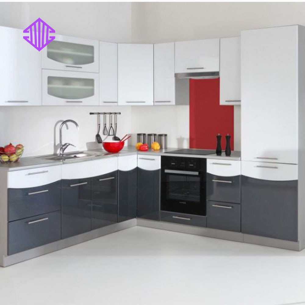 Ready Made White Melamine Cabinet Doors Display Furniture Kitchen Cabinets For Sale From Guangzhou China Buy Display Kitchen Cabinets For Sale Furniture Kitchen White Melamine Cabinet Doors Product On Alibaba Com