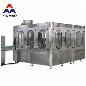 Alcoholic Beverage Bottling and filling pieces semi automatic water filling production line