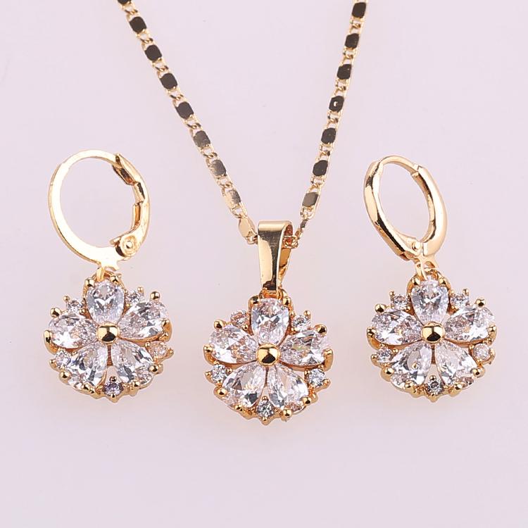 2017 New Pakistani Gold Diamond Bridal Kundan Jewelry Sets, View ...
