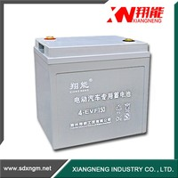 Long life electric solar gel battery 8V 150Ah