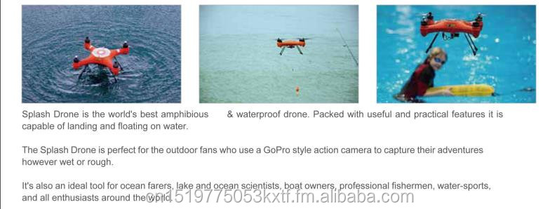 Waterproof Drone Quadcopter Type With GoPro Camera