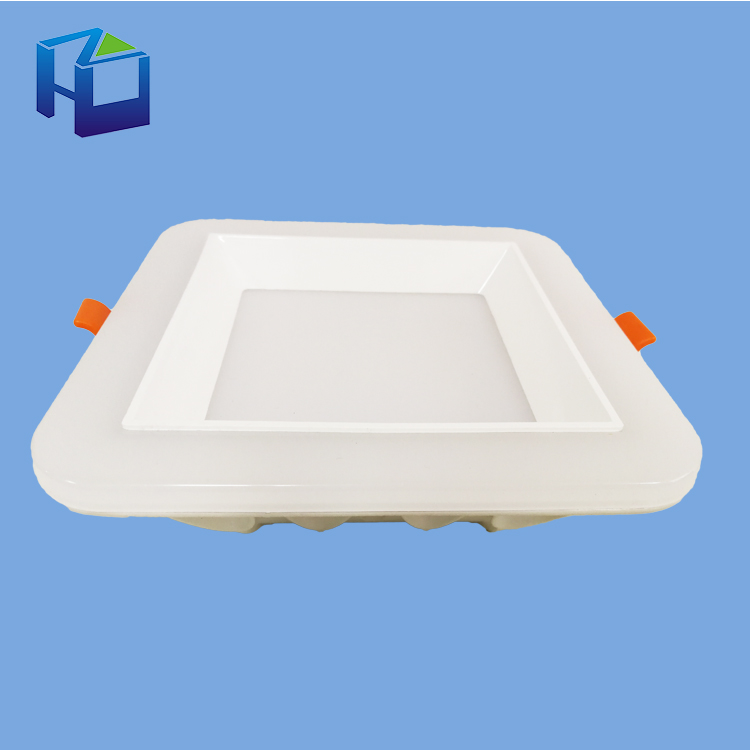 Customize Recessed Smd2835 Ceiling Lamp Ultra-Thin Ce Rohs Led 16w 18W Panel Light With Emergency Kit