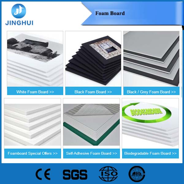 3mm 5mm 10mm Foam board Biodegradable/ Gatorfoam paper foam sheet supplier