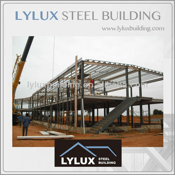 Steel Frame Hotel Construction & Real Estate Assembly ...