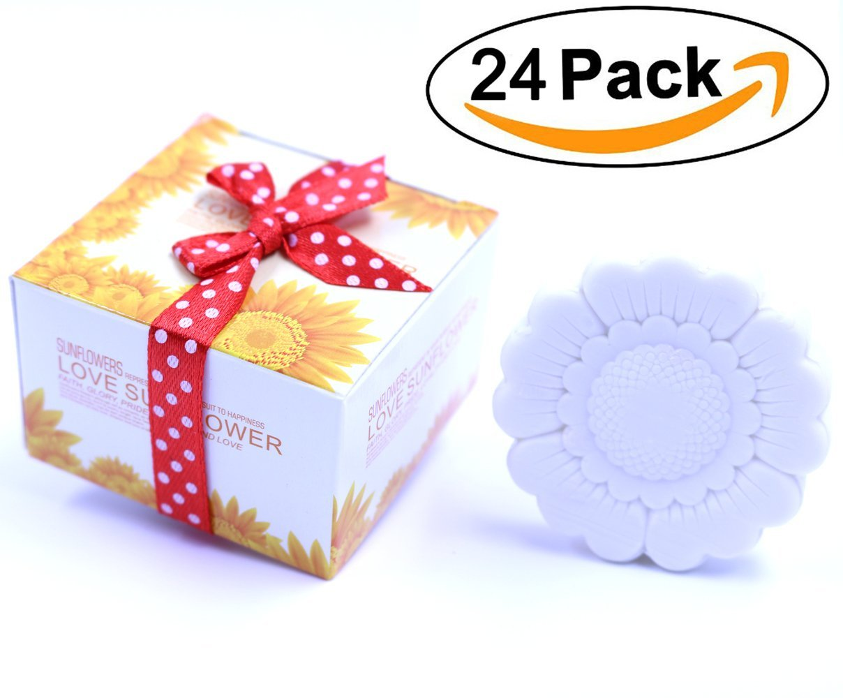Parties Thanksgiving Gifts,Bridal Shower Gifts by Aistore Aistore Cute Mini 24 Pieces Cute Christmas Duck Style Handmade Scented Soap Guests Keepsake Gift for Wedding Gift Baby Shower Favors